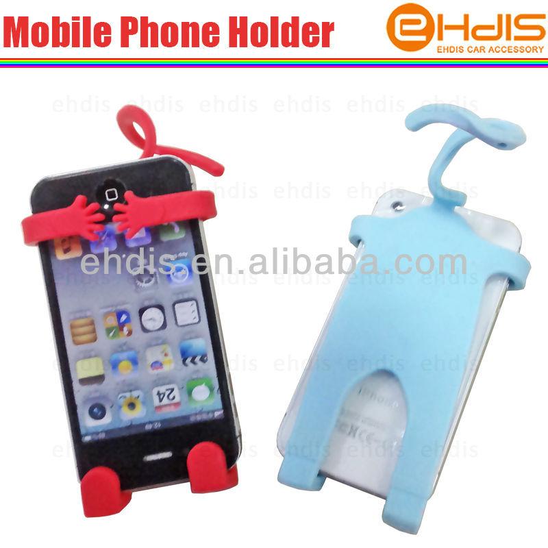 accessoire titulaire dr le de voiture souple en silicone de t l phone portable pour voiture. Black Bedroom Furniture Sets. Home Design Ideas