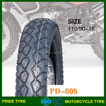 Tyre of motorcycle 110/90-16 with ISO 9001 CCC certification Egypt market CIQ