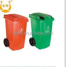 Jinbao 100L plastic color rubbish bin