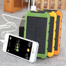 solar power bank phone 5000 10000 20000mAh solar power bank multipurpose for cellphone tablet and laptop