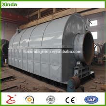 Waste plastic bottles bags and other waste recycling machines / pyrolysis plant in municipal solid waste