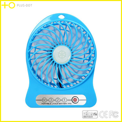 2015 Newest Hot Selling Protable USB Fan with Strong Wind usb min Desk Fan,rechargeable fan with battery