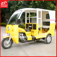 Fashion Closed Cabin Passenger Tricycle Motorcycle Taxi Made In China Sell To Mozambique