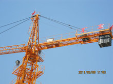 QTZ80 6010 8t tower crane crane jib length 60m