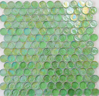 hexagonal green mosaic tile price