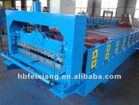 galvanized corrugated end step metal tile cutting machine in china