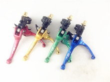 aluminum 22mm motorcycle clutch brake lever for dirt bike pit bike