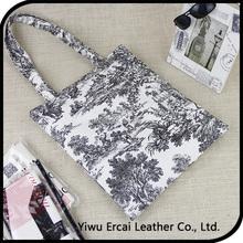 Top quality customized print cotton tote bag drawstring cotton canvas bag,cotton canvas promotion bag