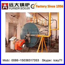 Auto and Clean 0.7to 14 mw horizontal type water heater fuel natural gas