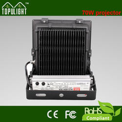 Topu high lumens led flood light 70w outdoor led projector light