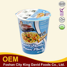 Instant Cup Noodles-Chicken/Beef/Shrimp Flavour with Additional Vegetables Pack