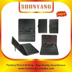 Hot selling Universal 10 inch Tablet pc case with keyboard