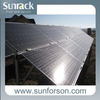 Photovoltaic Solar Module Mounting Structure