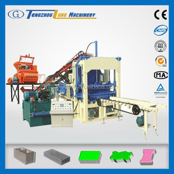 QT4-15C used fly ash solid block making machine low cost
