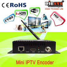 HdmiAV inputs,compact iptv streamer H.264 encoder designed to stream live HD video directly to the Web, Internet
