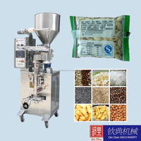 plastic bag packing machine for snacks food/grains/nuts/seeds