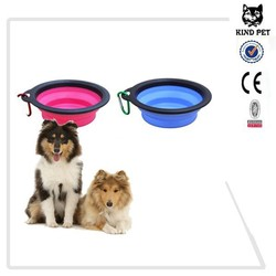 Silicone Pet Expandable/Collapsible Travel Bowl