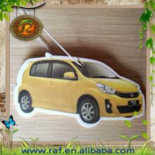 car shaped Guangzhou hot wholesale China manufacturer paper air freshener kitty cartoon shape car air freshener