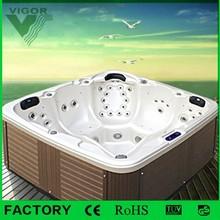 Factory China Supplier massage outdoor spa/garden free sex tv hot tub spa
