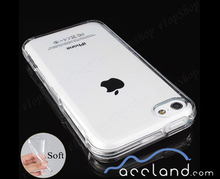 Crystal Clear Transparent Soft Thin Gel Silicone TPU Sublimation Clear Case for iPhone 5c