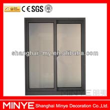 Aluminum window sliding/two track aluminum sliding window/house aluminum sliding window