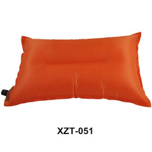 Wholesale alibaba hot sale very cheap rectangle bolster travel inflatable neck pillow for outdoor camping