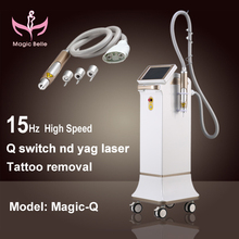 2015 TOP sale best!!!! Q switched nd yag laser/tattoo removal machine/Beauty salon recommended products