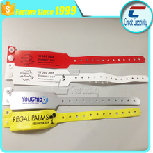 fashion bracelets 2015 for events and concert with colorful design one time use