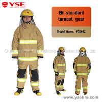 Fireman safety Nomex high temperature chemical fire protective clothing