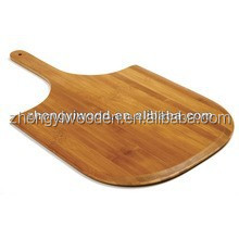 2015 hot selling FSC&SA8000 New desing bamboo wood plates pizza/wooden pizza peels with handles for manufactured wholesale