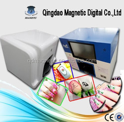 CE and FCC standards digital finger nail art printer/digital nail art printer