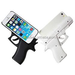 Super cool gun shape phone case for iPhone 5, 5S,5C,6 (4.7'')