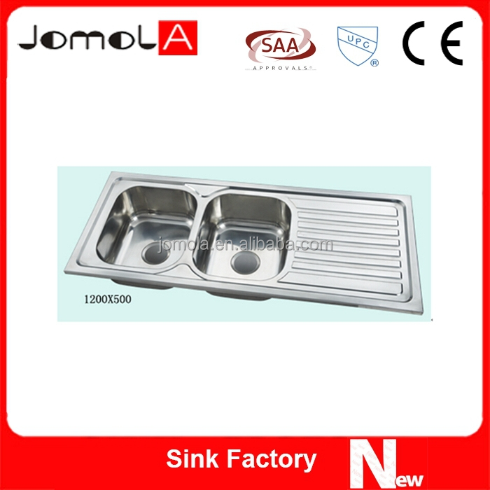 Double Bowl Sink With Drainboard &Outdoor sink