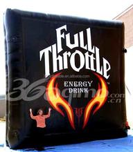 Custom black Inflatable square Billboard for advertising