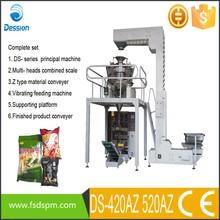 Vertical automática seca yuca chips de llenado y embalaje maquinaria DS-420AZ