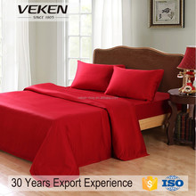 VK-721 300Tc 60Sx40S 150Gsm Plain 70 Percent Bamboo And 30 Percent Cotton Bamboo Quilt Sets King Size