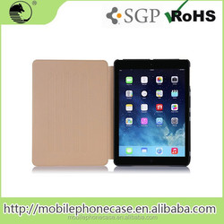 Good Guality Folding Flip Leather Case for iPad Air 2 Case Cover