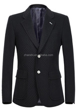 Wholesale Cheap Wool Blend Men's Plaid Suit From Chinese Factory