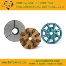 Metal bond, resin bond diamond polishing wheels