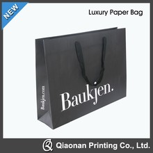 2015 New Luxury Shopping Paper Bag for Clothes
