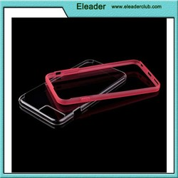 Bumper Case with Clear Back for iphone 6, ultra thin case for iphone 6