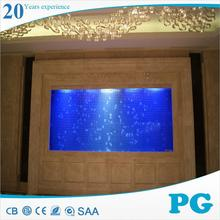 PG made in China plastic aquarium large acrylic fish tank