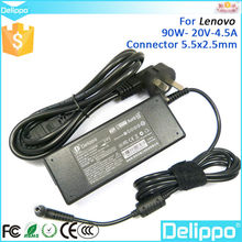 New Arrival 20V 4.5A Ac Adaptor For Lenovo Notebook Laptops Regulated Power Supply 90w
