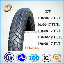 motorcycle tyre wholesale high quality motorcycle wheel motorcycle tyre 90/90-17
