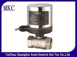 full way ball valve, electric actuator for ball valve, DN15,DN20,DN25