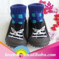 Latest design infant boy shoes soft rubber sole for shoes