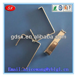 Stainless steel/galvanized sheet socket stamping contact parts,stamping smart switch parts for electrical equipment