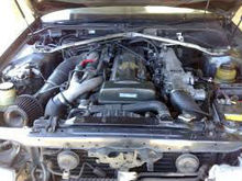USED FRONT CLIP HALF CUT 1JZGTE VVTI TURBO JZX81 FOR CAR TOYOTA