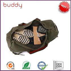 Sport bag canvas golf bag travel cover