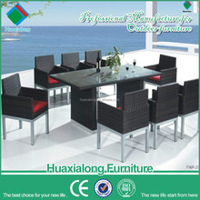 outdoor tables for parties and chairs sale set used for restaurant garden guangdong imported rattan dining furniture